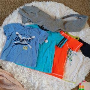 24 Month Boys Shirt and Hoodie Bundle